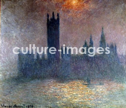 CLAUDE MONET, London, das Parlament
