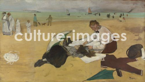 Edgar Degas, Am Strand