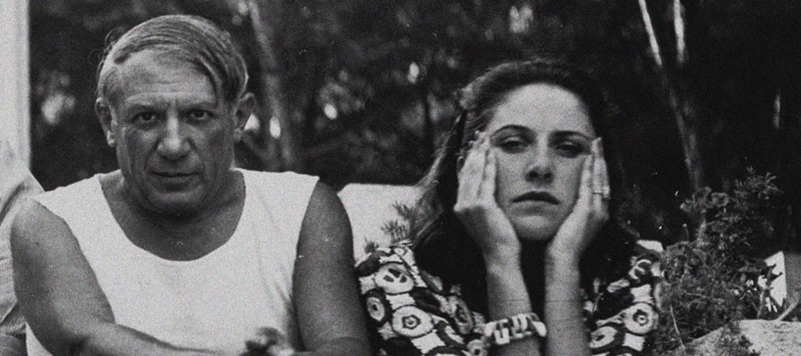 Pablo Picasso and Dora Maar, Antibes 1937