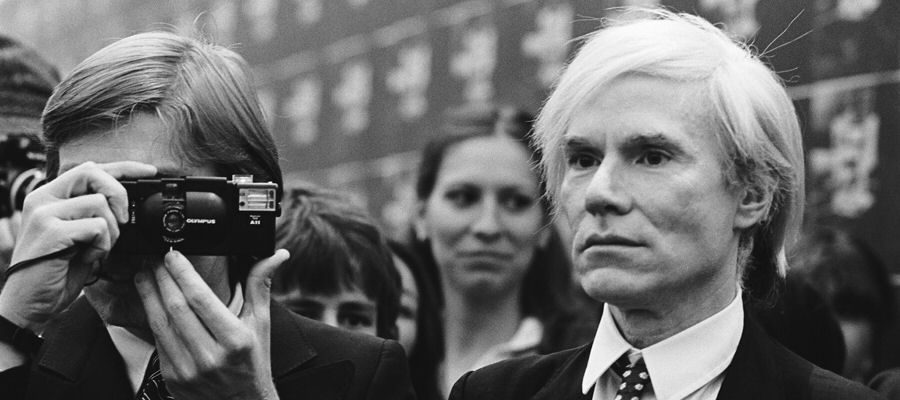 Andy Warhol in Wien 1982