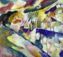 Wassily Wassiljewitsch Kandinsky, Landschaft mit Regen