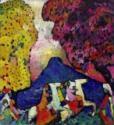 Wassily Wassiljewitsch Kandinsky, Der blaue Berg