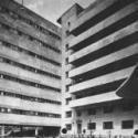 Das Kommunehauses des Textilinstituts (Nikolajew-Haus).