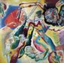 Wassily Wassiljewitsch Kandinsky, Bild mit rotem Fleck