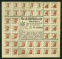 Lebensmittelkarten aus Stuttgart nach dem 2. Weltkrieg - für Fleisch